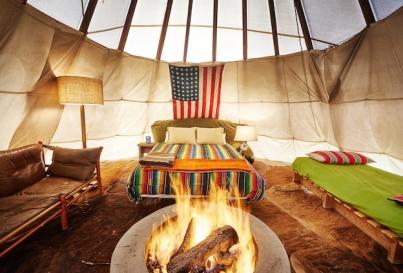El-Cosmico-teepee-interior-Photographer-Nick-Simonite